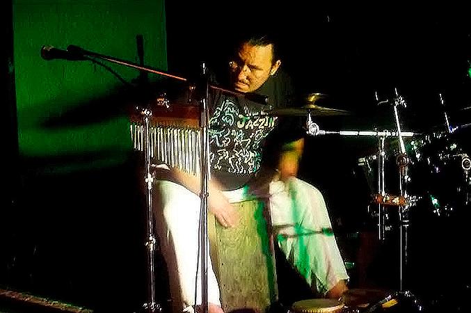percussionista grup rosa negra de mollet i parets del valles